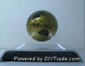 electro magnetic levitation and rotation wine base with LED 5