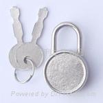 箱包锁 文具锁 铁盒小锁
