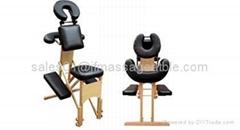 wooden massage chair