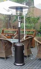 Umbrella-type heater, outdoor heating machine