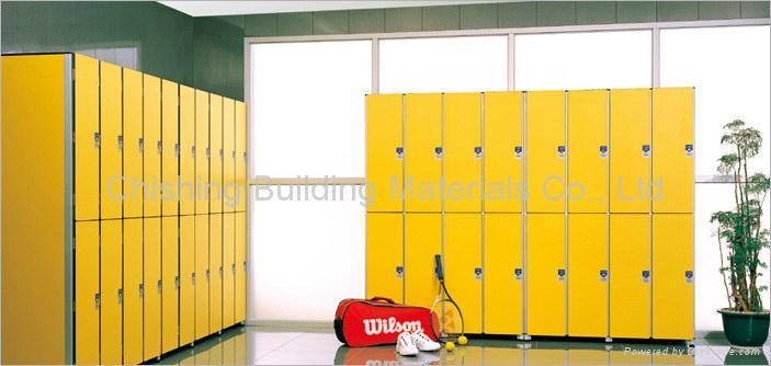 HPL locker system 1
