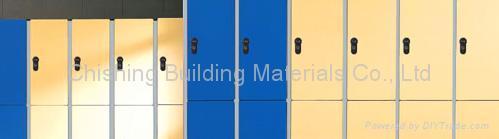 HPL locker system 4