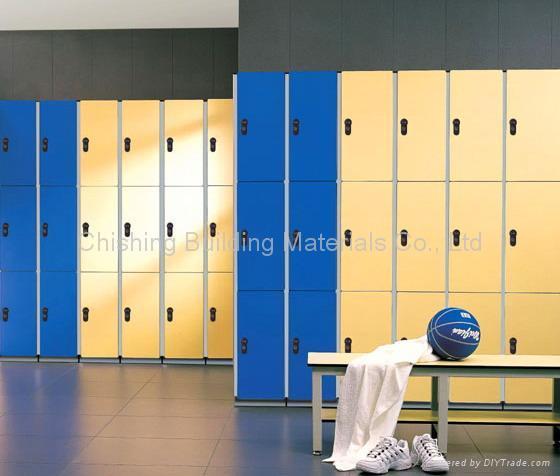 HPL locker system 5