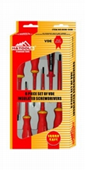 6 Piece Screwdriver Set (H08-0118)