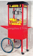 Popcorn Popper machine with cart