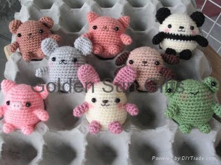 ANIMAL CROCHET FREE MINIATURE PATTERN « FREE Knitting PATTERNS