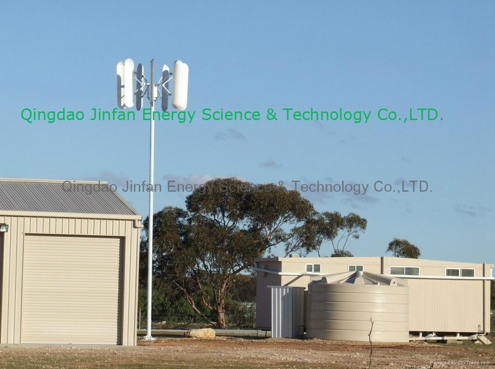 vertical wind turbine for home use - 300W-10KW - Jinfan