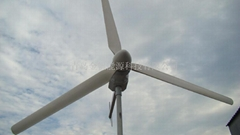horizontal axis wind generator