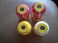100% polyester embroidery thread  2