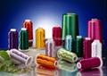 Dyed viscose rayon filament yarn