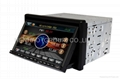HD car dvd player with gps Bluetooth