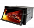 gps with car dvd 2din player BT ipod gps