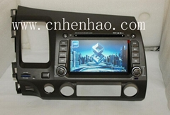 KR9994 Car GPS Navigation System DVD Player For HONDA CIVIC