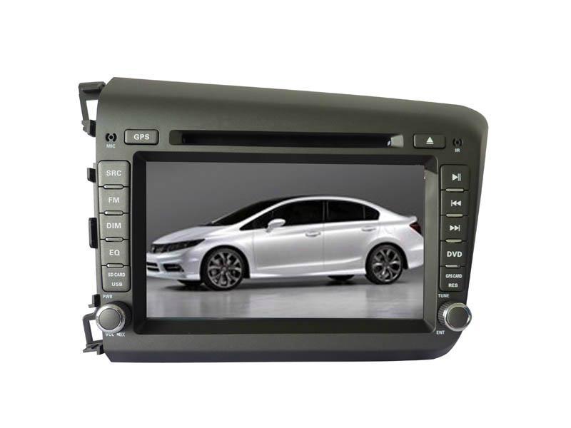 1017 car gps navigation system dvd player for 2012 honda. Black Bedroom Furniture Sets. Home Design Ideas