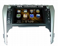 "H1019 HD 8"" head unit car dvd cd player gps nav for Europer 2012 camry"