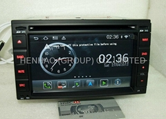 Android wifi headunit car dvd gps for Nissan Universal QASHQAI X-TRAIL Tiida (Hot Product - 2*)