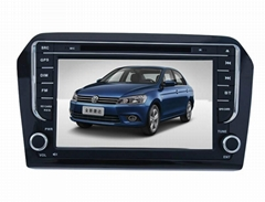 9952 HD in dash car dvd gps navigation for VW Santana/Jetta(2013)