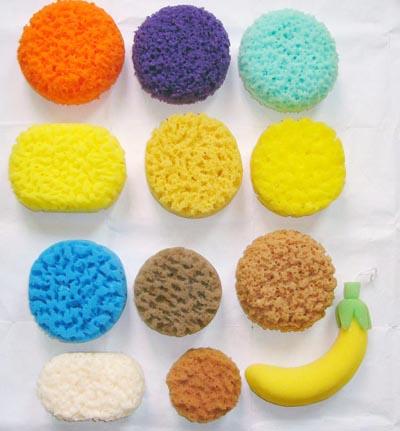 Car Sponge Wash Sponge Scouring Pad Sponge Brush Cellulose