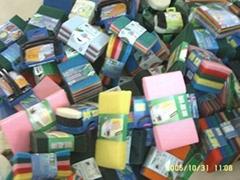 供应各式百洁布,海绵百洁布,汽车绵,沐浴绵,家居用品,洗碗绵