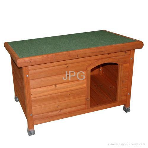 wooden dog house 2