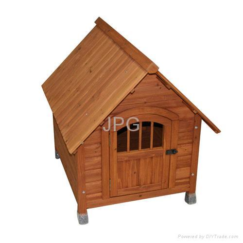 wooden dog house 4