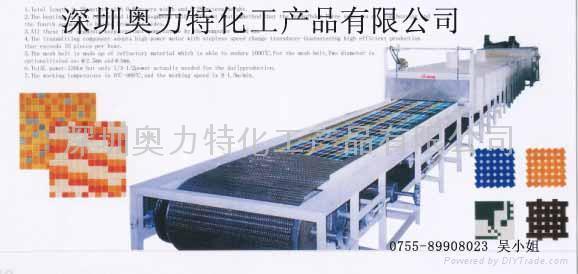 马赛克隧道窑炉 1