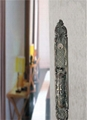 Luxurious zinc alloy big handle door