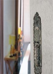 Luxurious zinc alloy big handle door locks