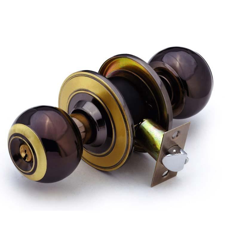 Cylindrical iron knob locks 1