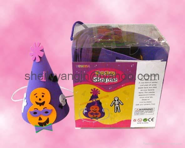 eva foam stamps,eva foam shapes, ,eva stickers ,eva hat  1