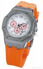 全鋼商務手錶