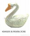 Swan jewelry box KEAA0235
