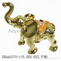Elephant jewelry box KEAA2170-1