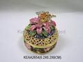 Flower jewelry box KEAA2654