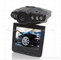 720P Car DVR With IR ,270 Degree