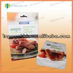 Food packging bags with customized print
