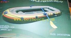 贝贝商贸三人船组,橡皮充气艇,全国可货到付款