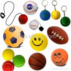 pu stress ball,key chain,promotional gifts