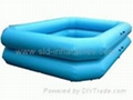 inflatable square pool
