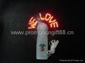 promotion gift  mini fan   message fan