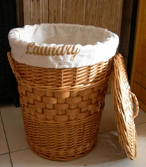 WILLOW LAUNDRY BASKET/WILLOW BASKET