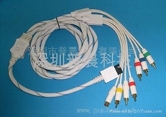 S - AV Component Cable for WII