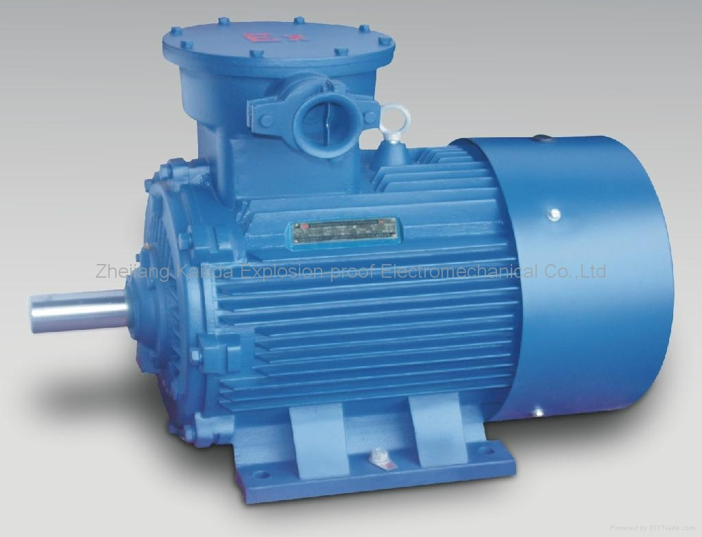 Explosion proof three phase asychronous electric motor for Explosion proof dc motor