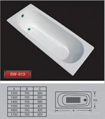sharking cast iron bathtub SW-013