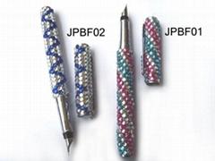 crystal ball pen