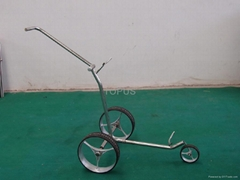 golf push trolley