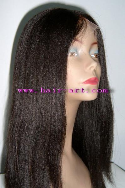 Full lace Yaki wig 1