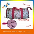 Polyester Folding Travel Bag For Girls