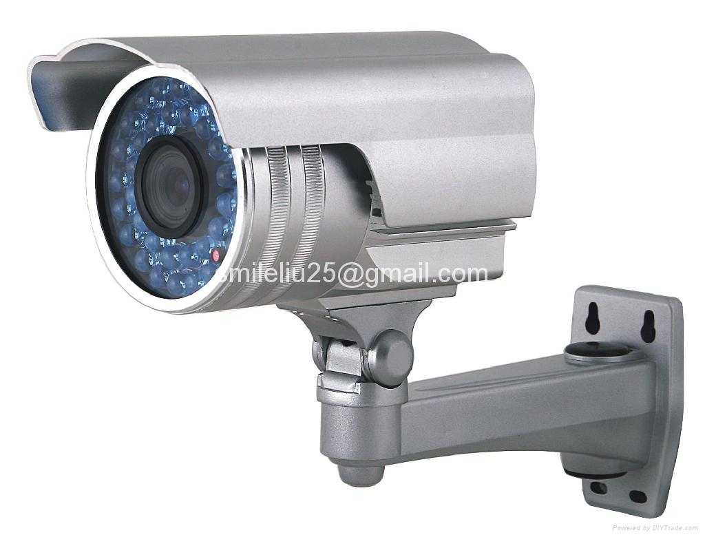 Cctv Waterproof Camera With Osd Menu With Wall Mount All