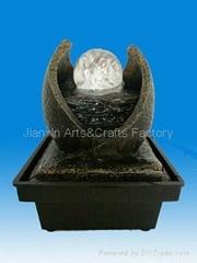 polyresin fountain